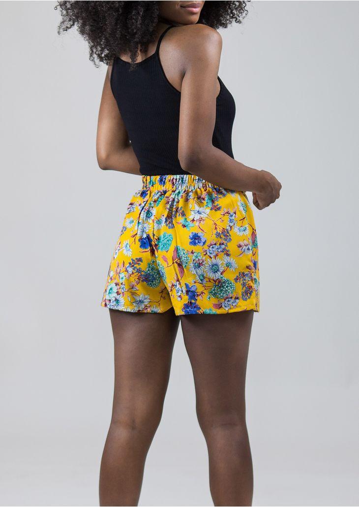 Shorts-Amarracao-Floral-Amarelo