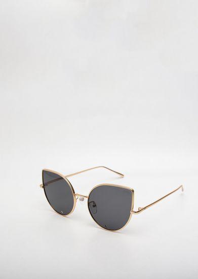 -Oculos-de-Sol-Goofy-Flamingo-Preto-e-Dourado