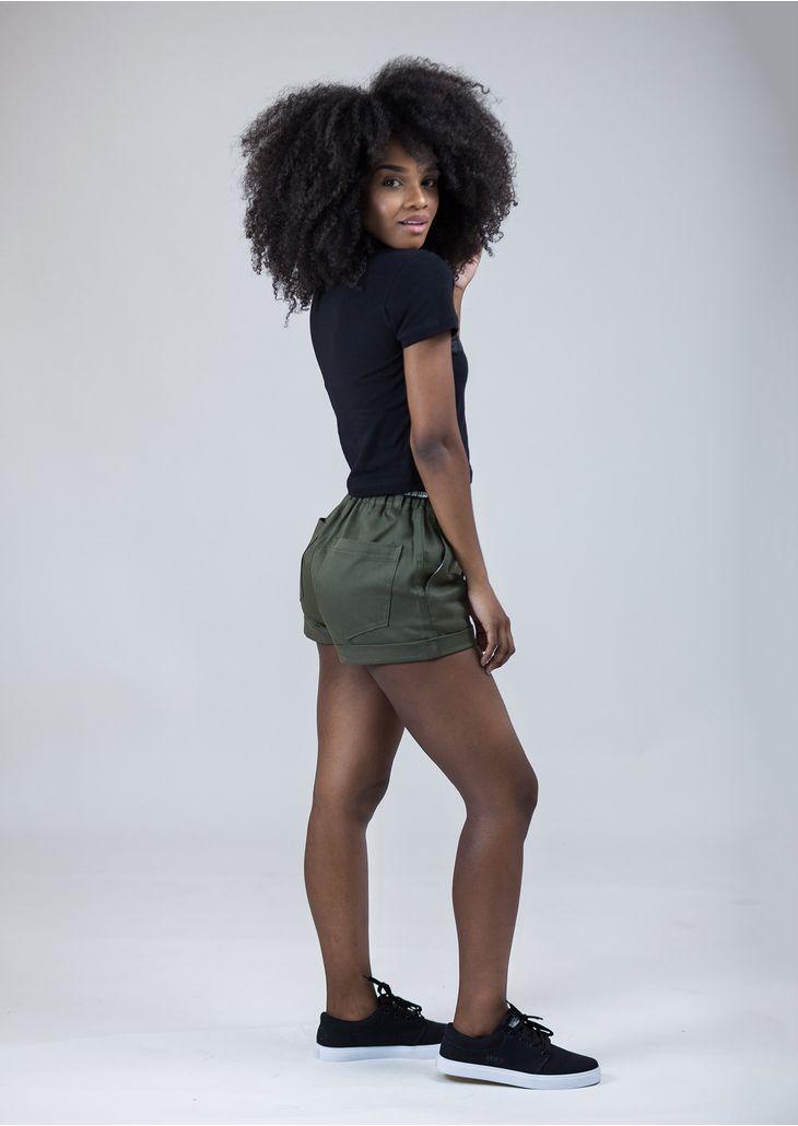 Shorts-Elastico-Oliva