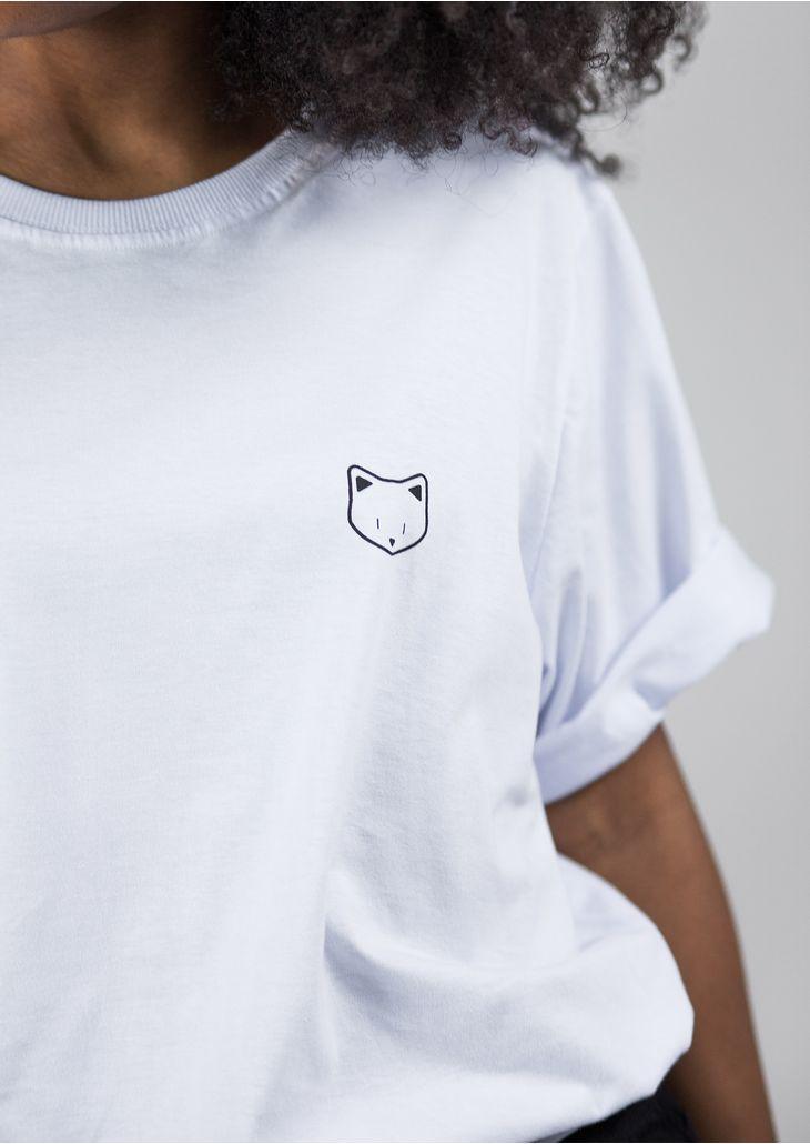 Camisetao-Gatinho-Branco