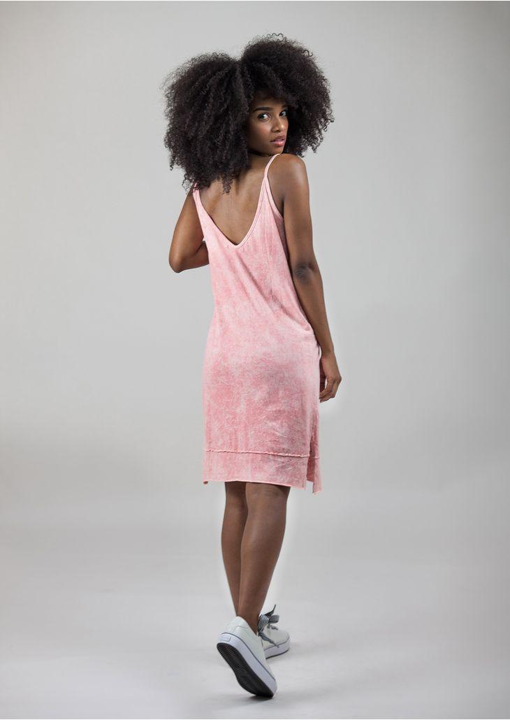 Vestido-Estonado-Rosa