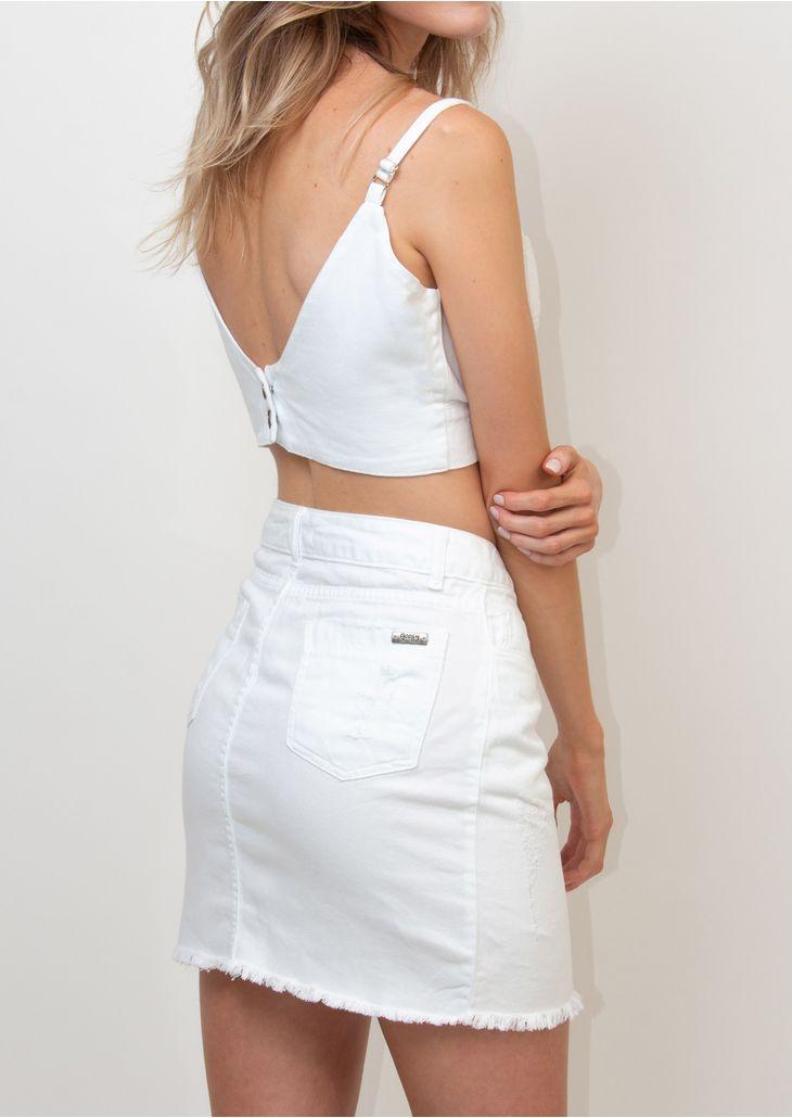 Top-Jeans-Goofy-Branco