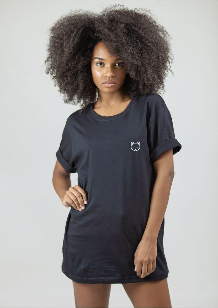 camisetao-goofy-gatinho-preto