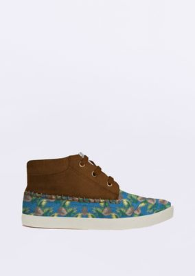 Tenis-Lovely-Floral-Azul