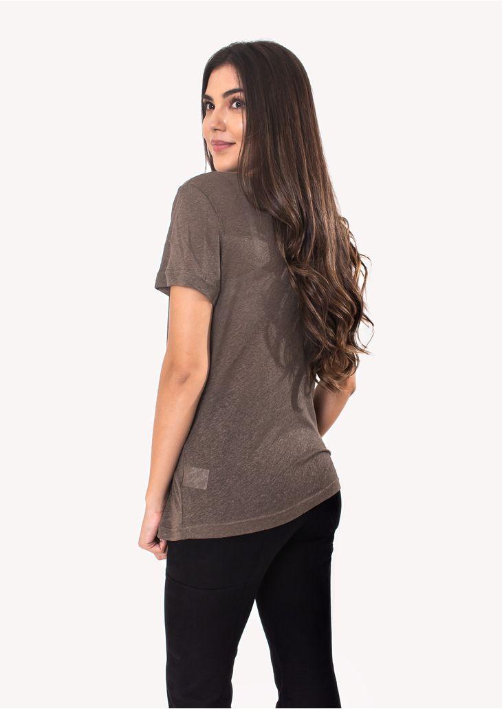 Camiseta-Podrinha-Linho-Verde-Fendi