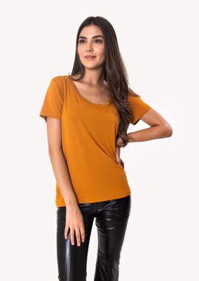 Camiseta-Podrinha-Malha-Mostarda
