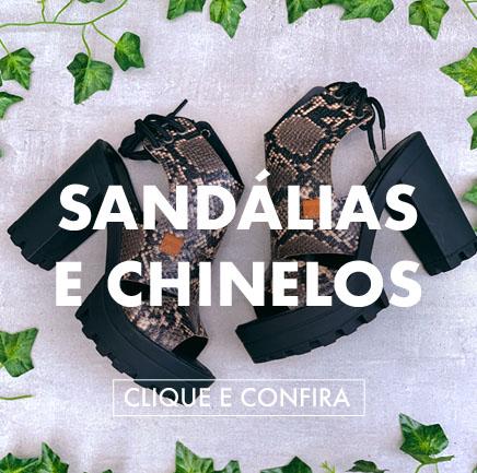 novas sandálias