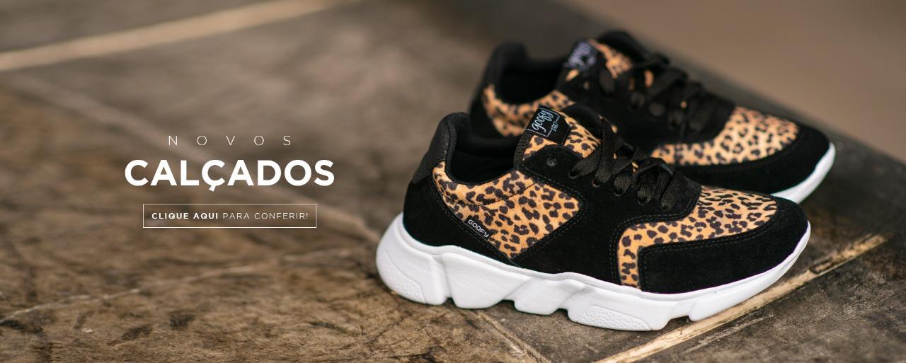 novos calçados